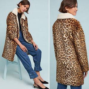 Jakett Leopard Coat